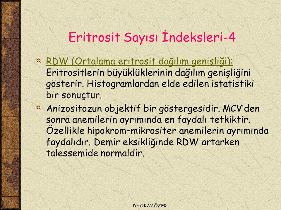 Eritrosit Sayısı İndeksleri-4