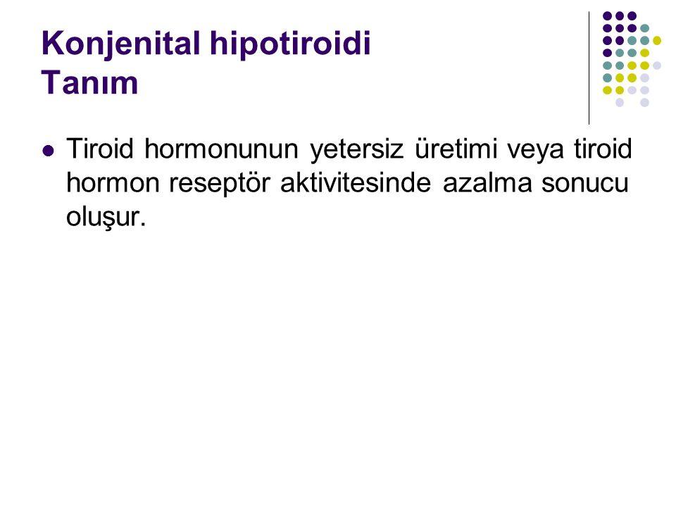 Konjenital hipotiroidi Tanım