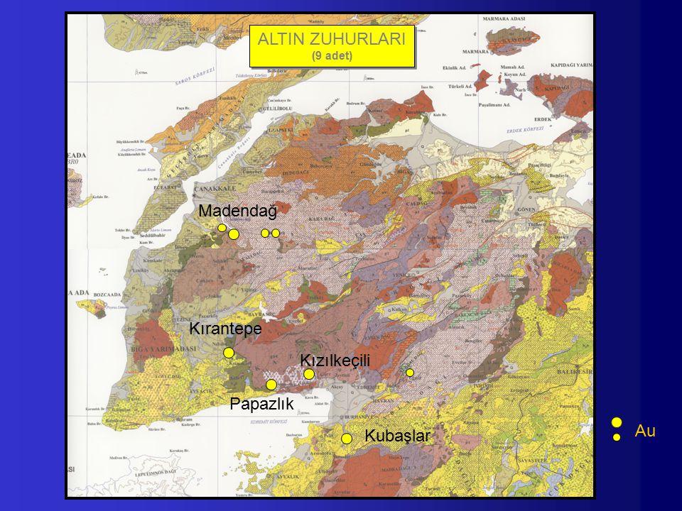 ALTIN ZUHURLARI Madendağ Kırantepe Kızılkeçili Papazlık Au Kubaşlar