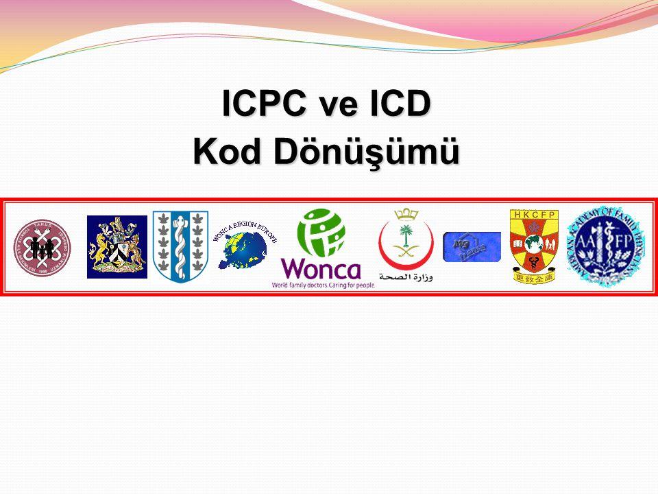 ICPC ve ICD Kod Dönüşümü