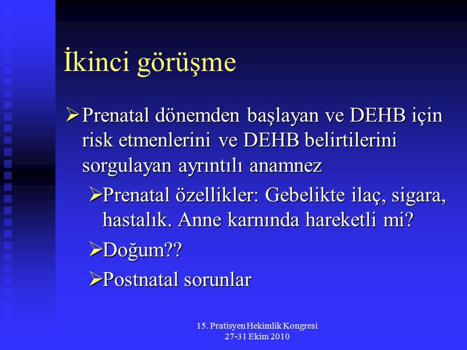15. Pratisyen Hekimlik Kongresi 27-31 Ekim 2010