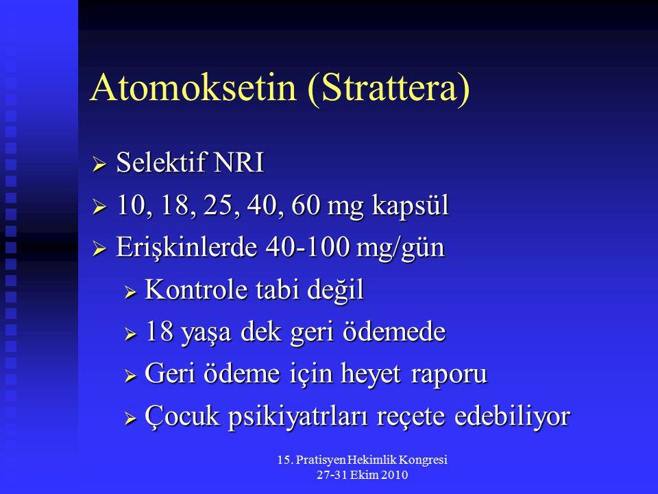 Atomoksetin (Strattera)