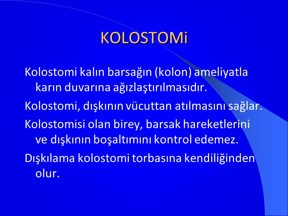 KOLOSTOMi
