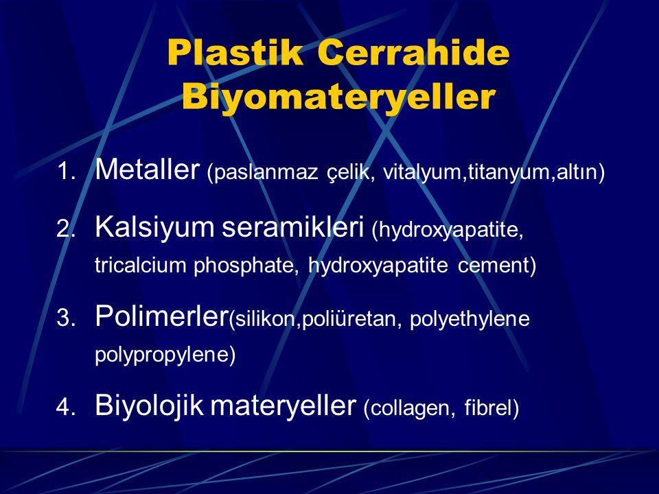Plastik Cerrahide Biyomateryeller