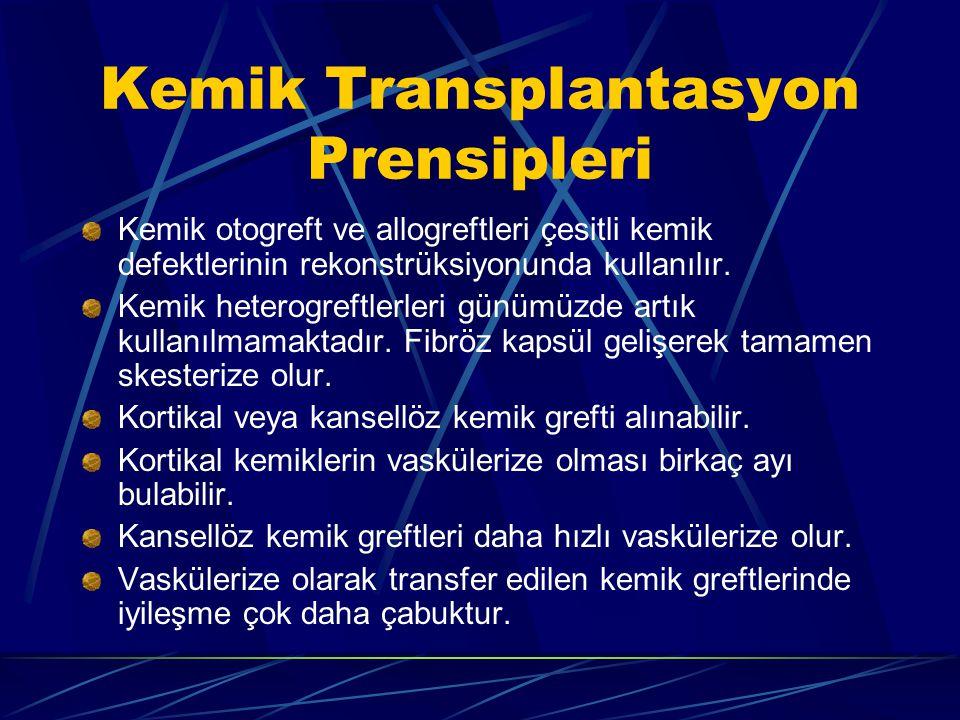 Kemik Transplantasyon Prensipleri