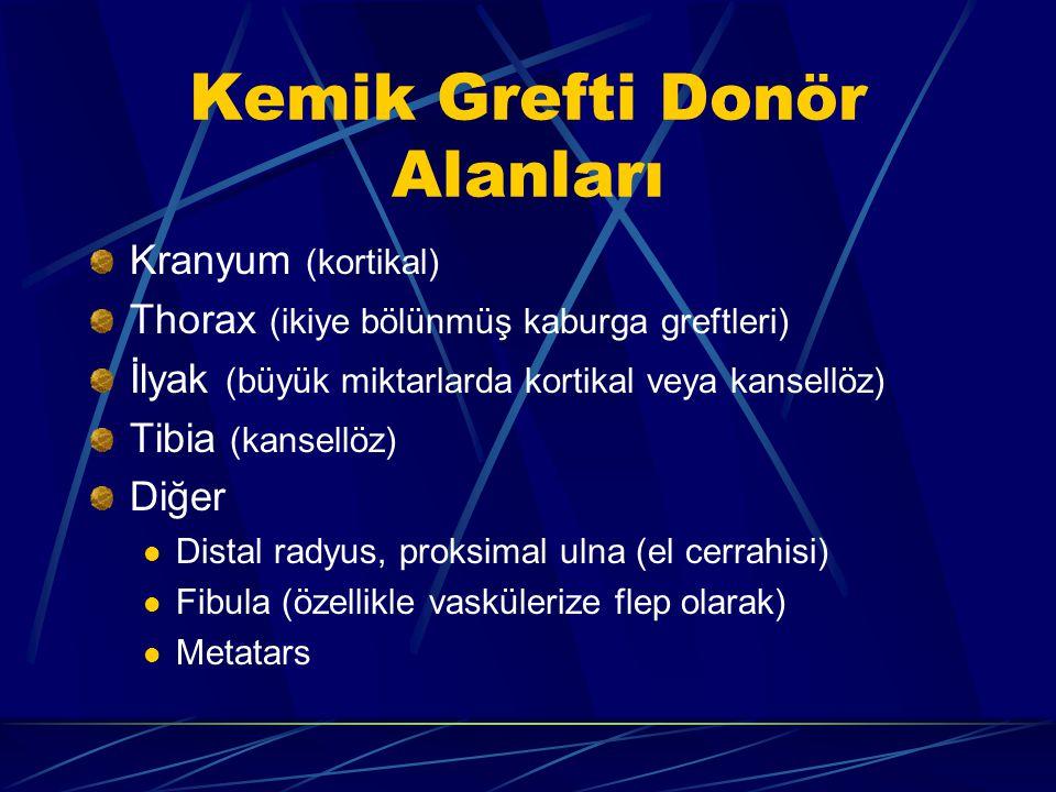 Kemik Grefti Donör Alanları