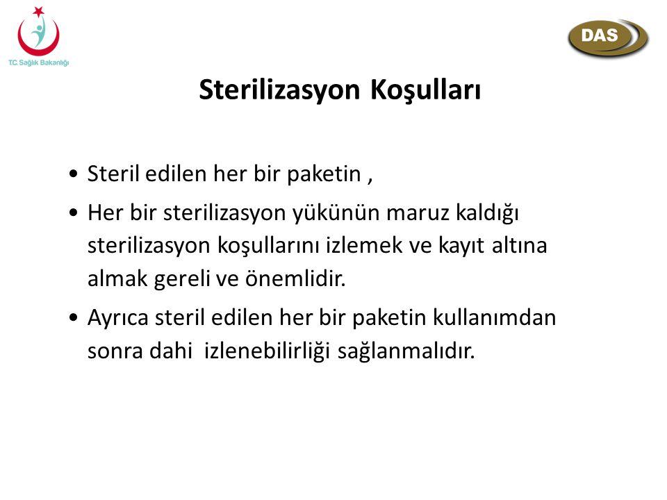Sterilizasyon Koşulları