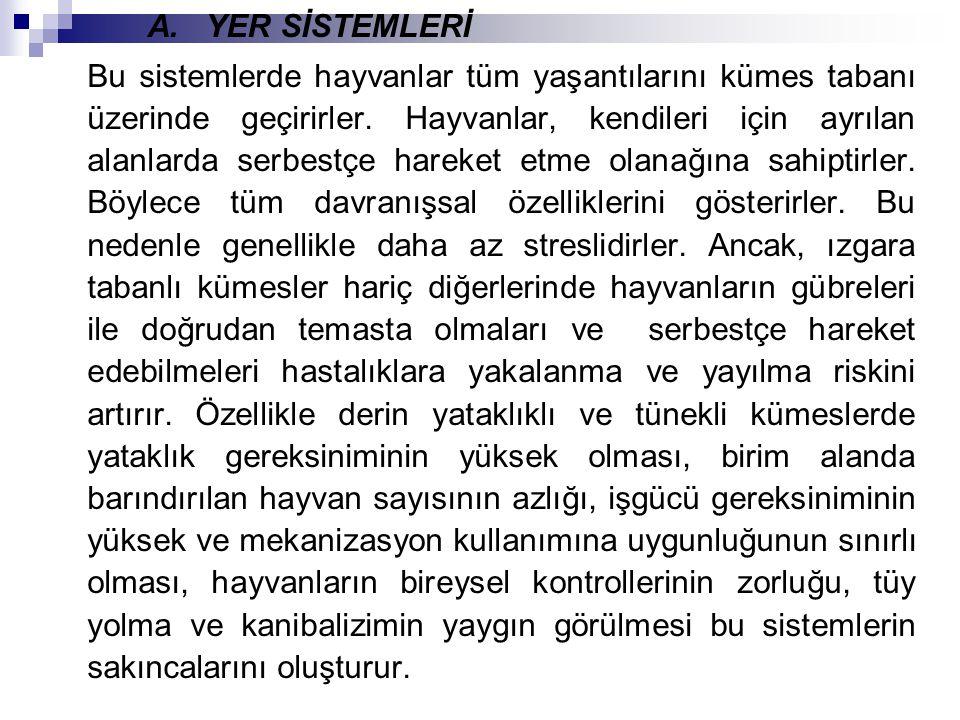 A. YER SİSTEMLERİ