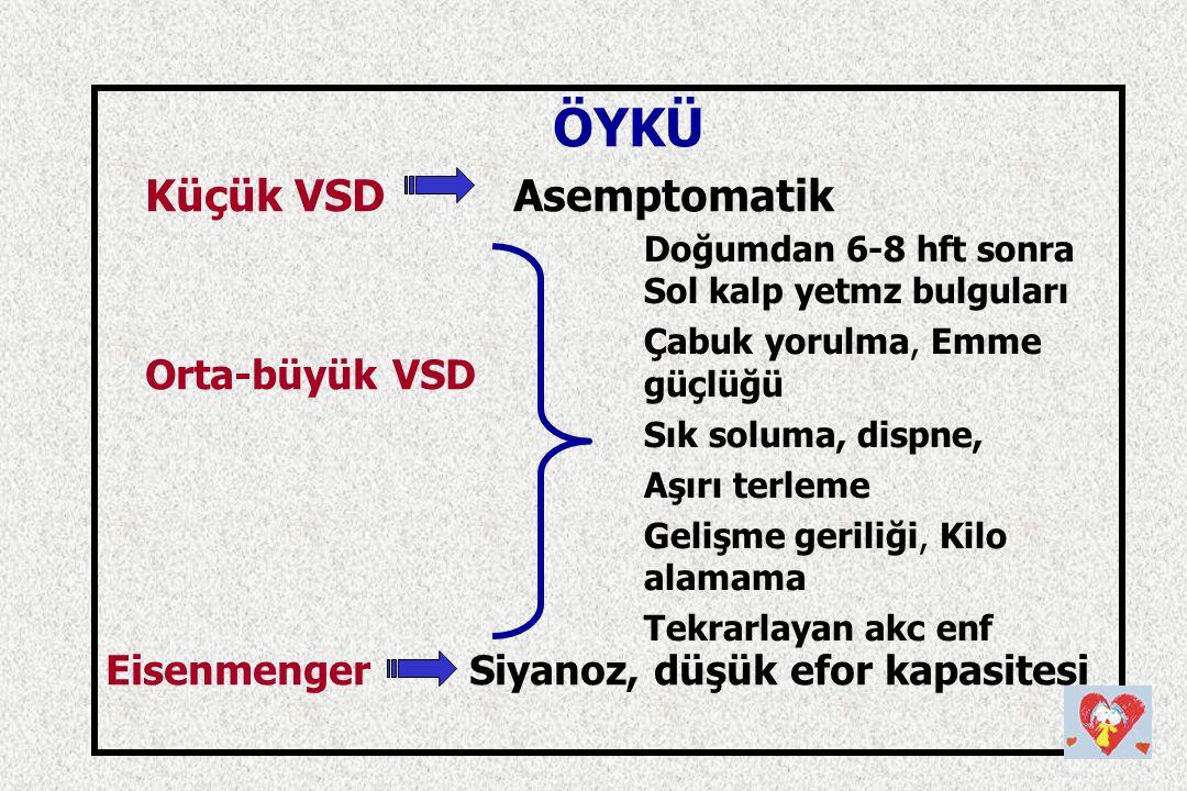 Küçük VSD Asemptomatik