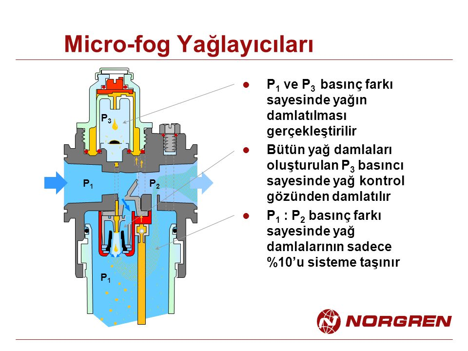 Micro-fog Yağlayıcıları