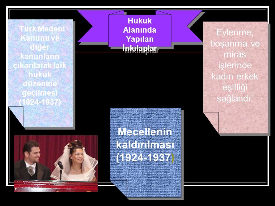 Mecellenin kaldırılması (1924-1937)