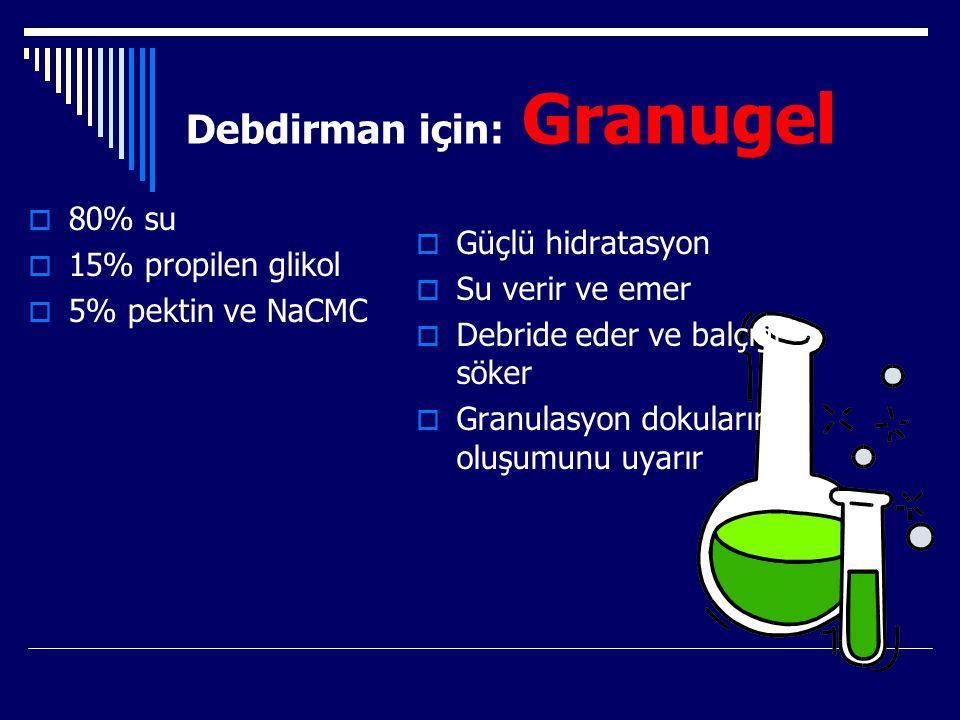 Debdirman için: Granugel