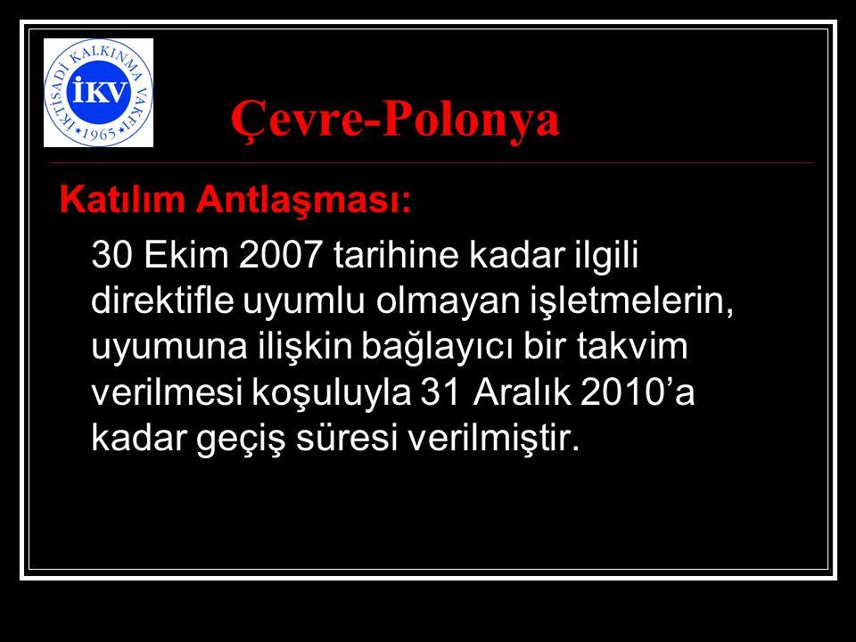 Çevre-Polonya Katılım Antlaşması: