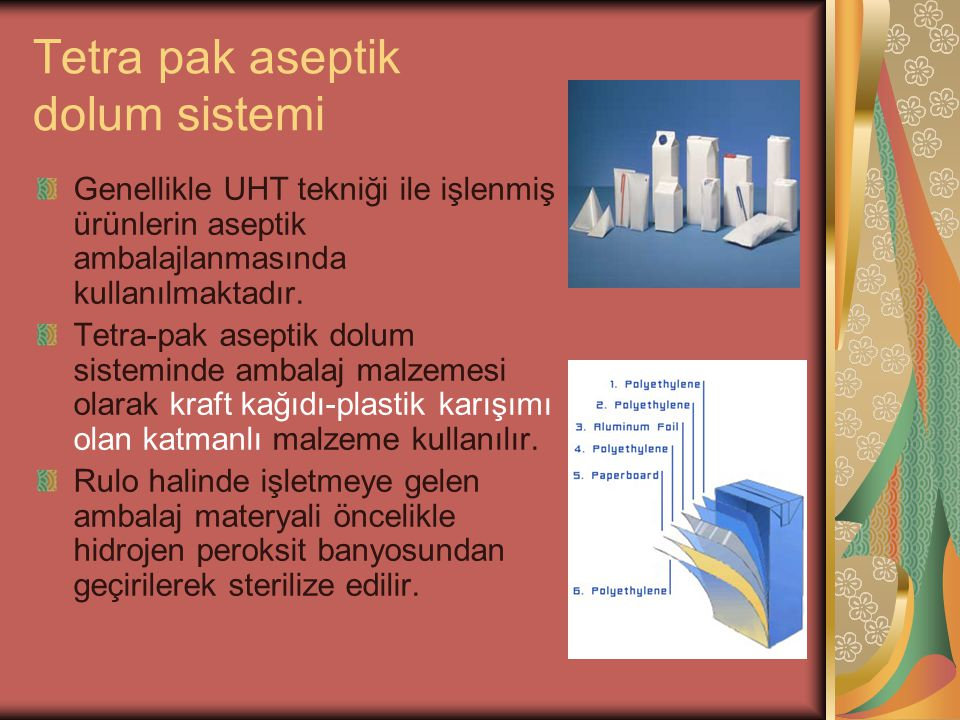 Tetra pak aseptik dolum sistemi
