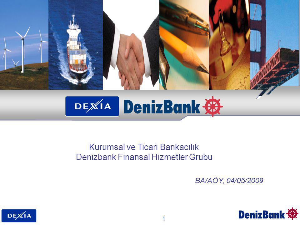 Kurumsal ve Ticari Bankacılık Denizbank Finansal Hizmetler Grubu