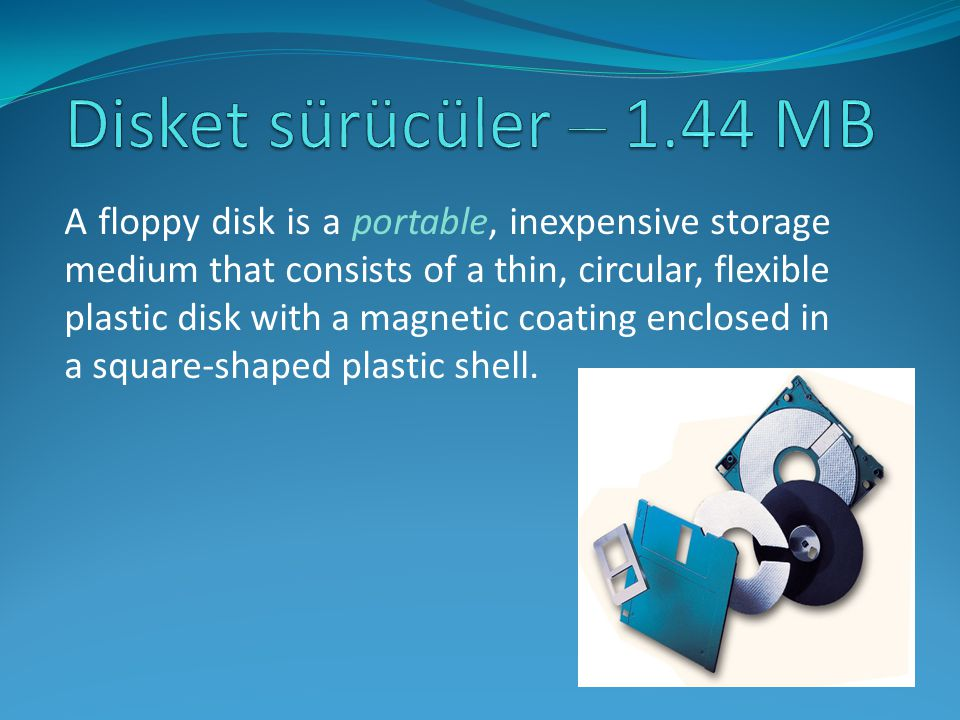Disket sürücüler – 1.44 MB