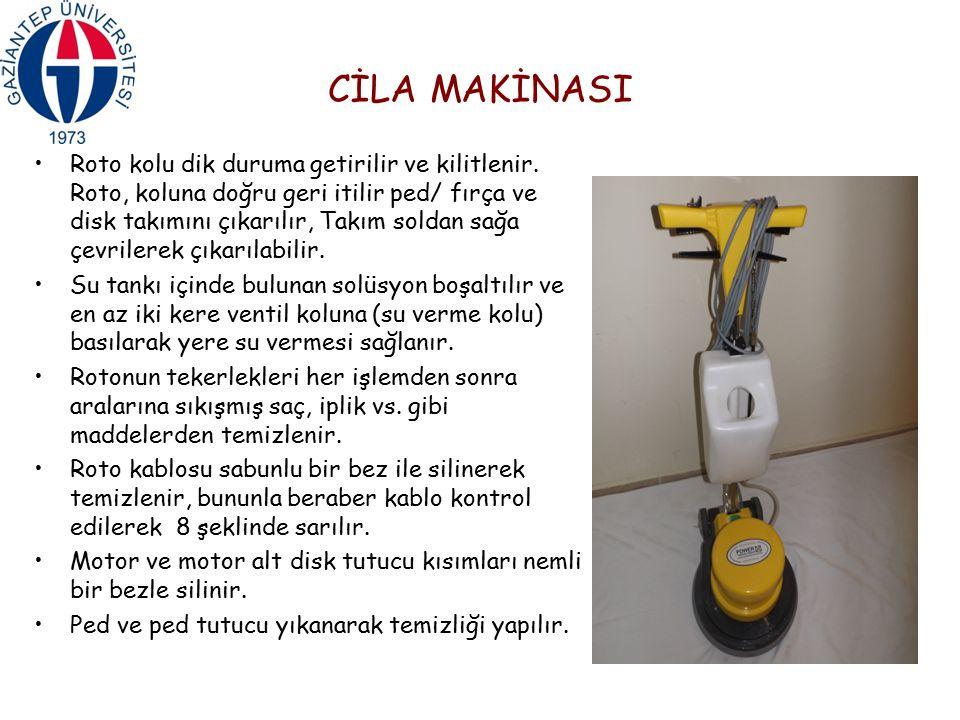 CİLA MAKİNASI