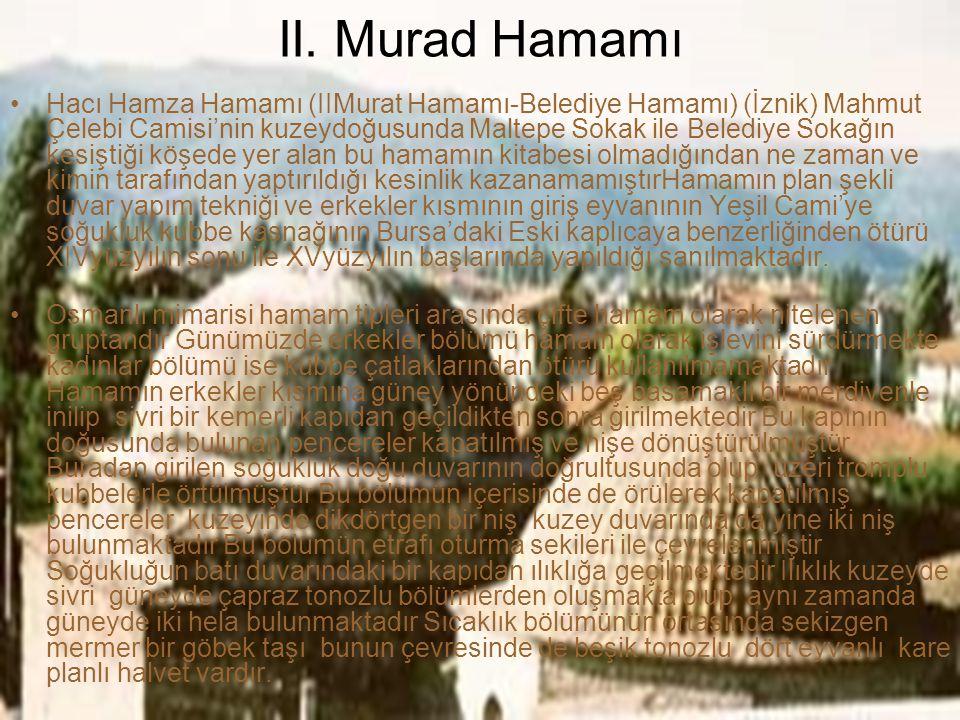 II. Murad Hamamı