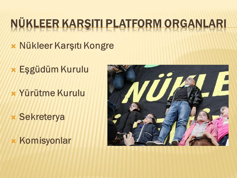 Nükleer KarşItI Platform OrganlarI
