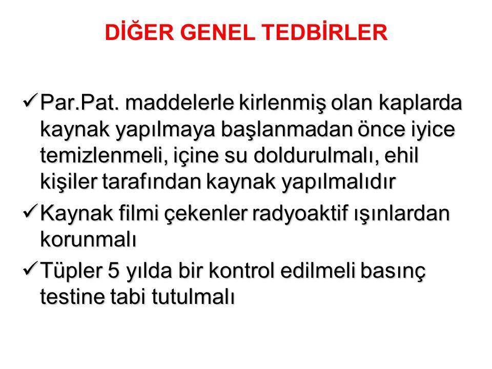 DİĞER GENEL TEDBİRLER