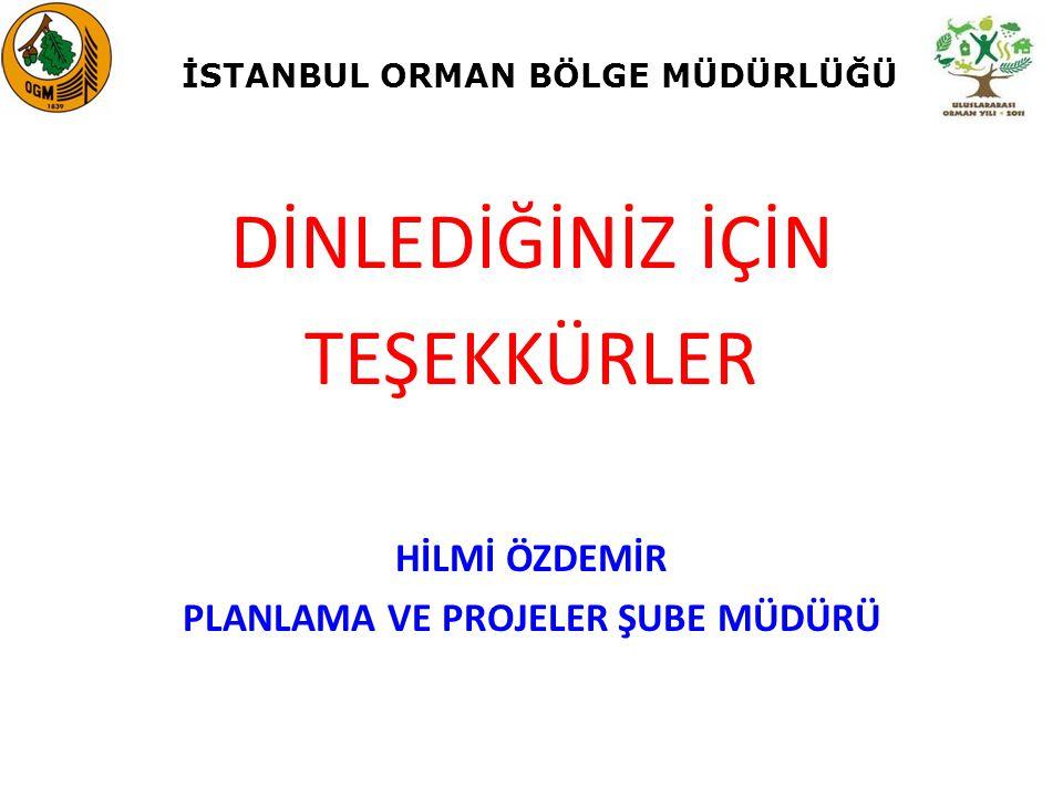 İSTANBUL ORMAN BÖLGE MÜDÜRLÜĞÜ