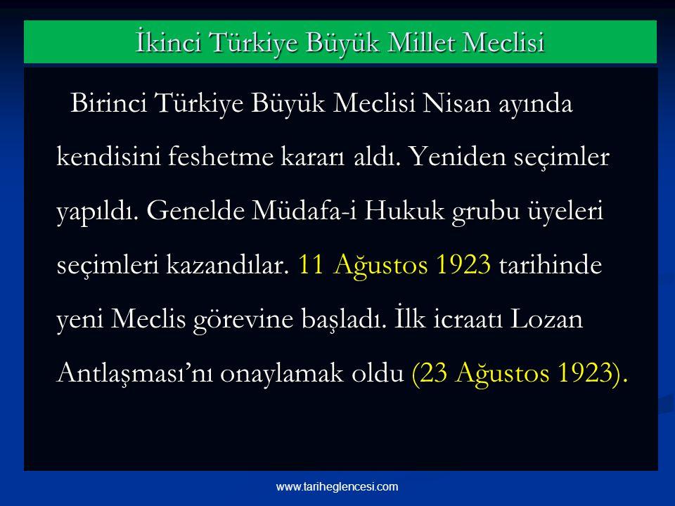 İkinci Türkiye Büyük Millet Meclisi