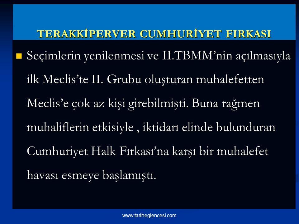 TERAKKİPERVER CUMHURİYET FIRKASI