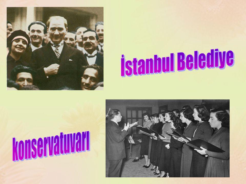 İstanbul Belediye konservatuvarı