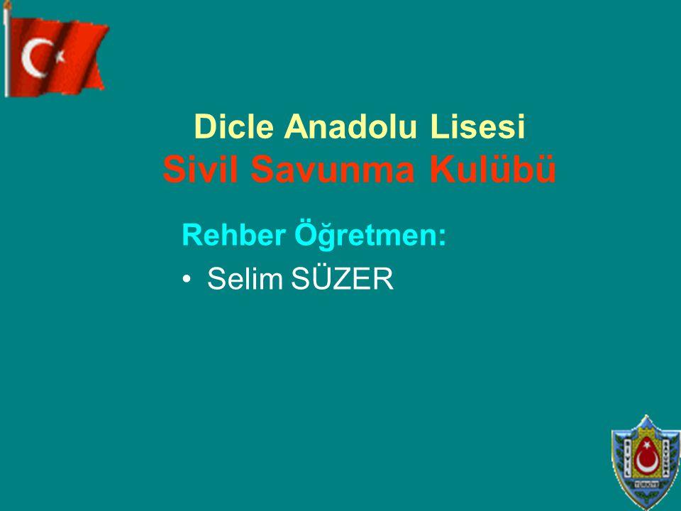 Dicle Anadolu Lisesi Sivil Savunma Kulübü
