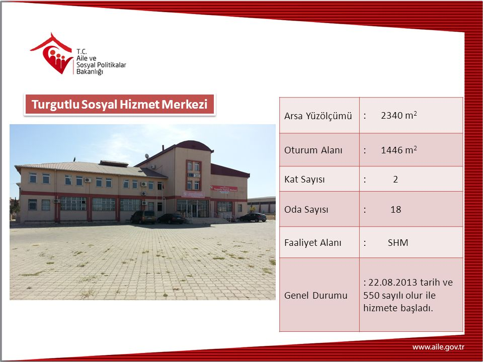 Turgutlu Sosyal Hizmet Merkezi