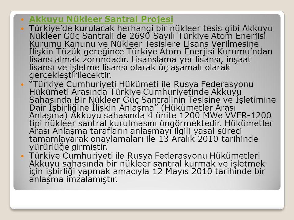 Akkuyu Nükleer Santral Projesi