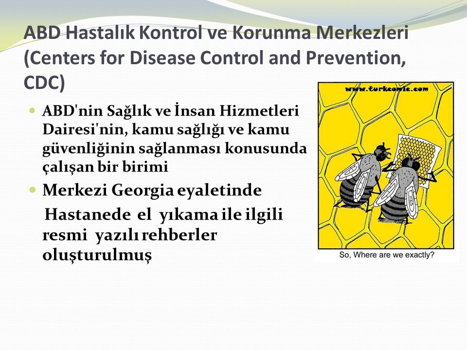 ABD Hastalık Kontrol ve Korunma Merkezleri (Centers for Disease Control and Prevention, CDC)