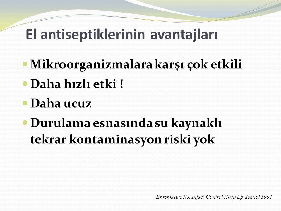 El antiseptiklerinin avantajları