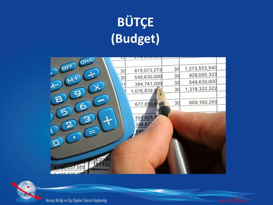 BÜTÇE (Budget)