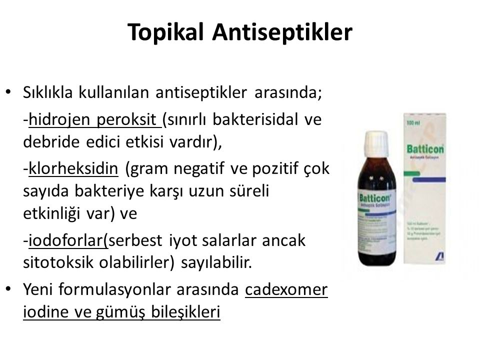 Topikal Antiseptikler