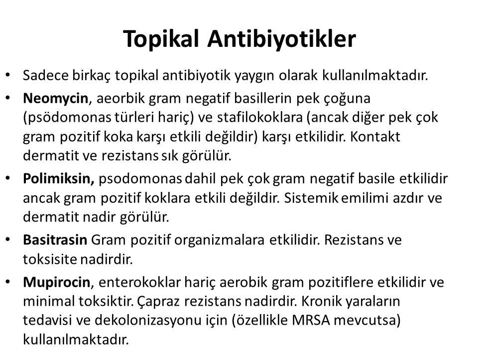 Topikal Antibiyotikler