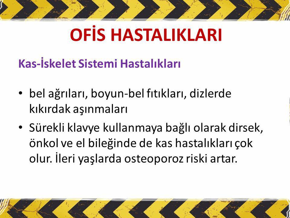 OFİS HASTALIKLARI Kas-İskelet Sistemi Hastalıkları