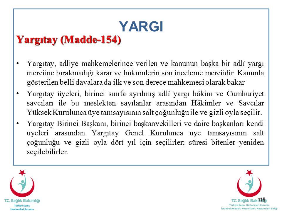 YARGI Yargıtay (Madde-154)