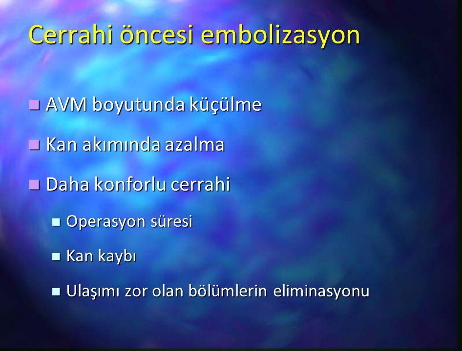 Cerrahi öncesi embolizasyon