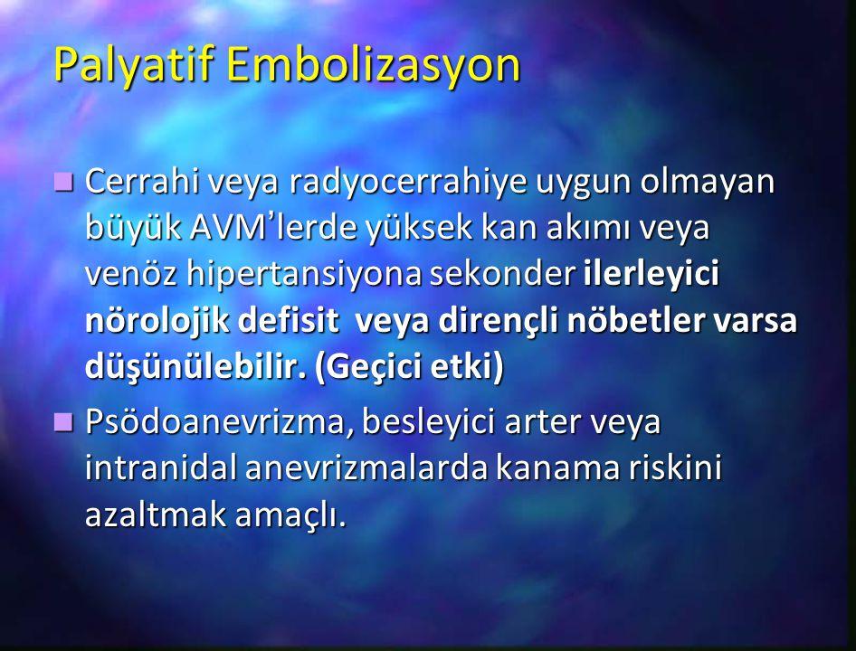 Palyatif Embolizasyon