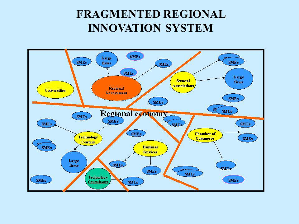 FRAGMENTED REGIONAL INNOVATION SYSTEM