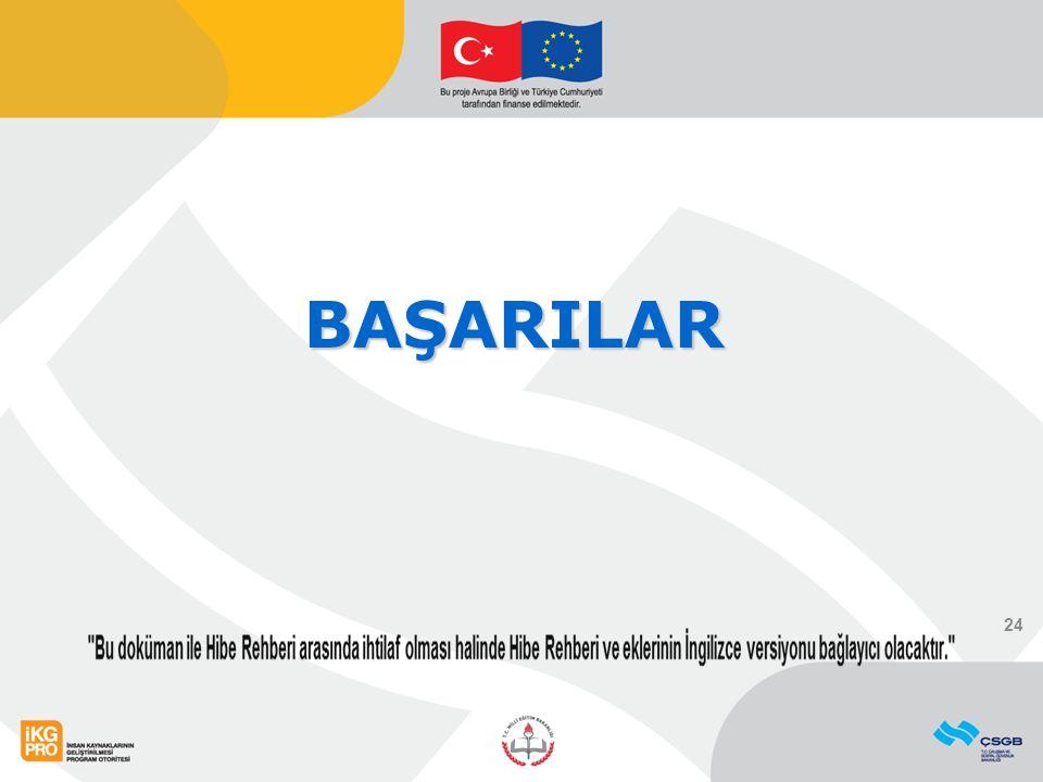 BAŞARILAR 24