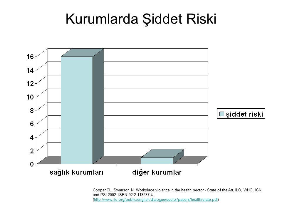 Kurumlarda Şiddet Riski