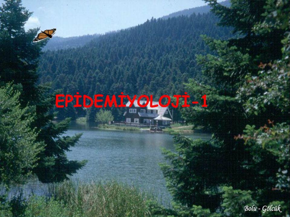 6 EPİDEMİYOLOJİ-1 6