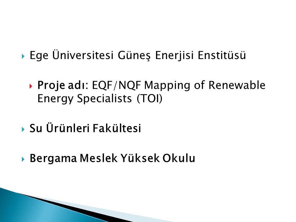 Ege Üniversitesi Güneş Enerjisi Enstitüsü