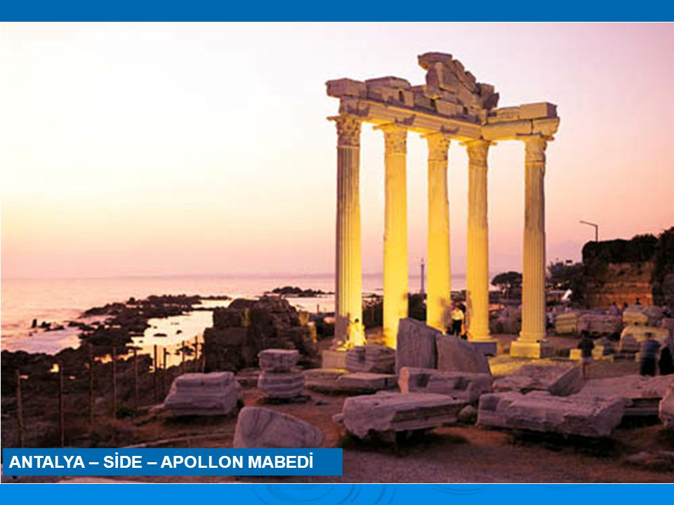 ANTALYA – SİDE – APOLLON MABEDİ