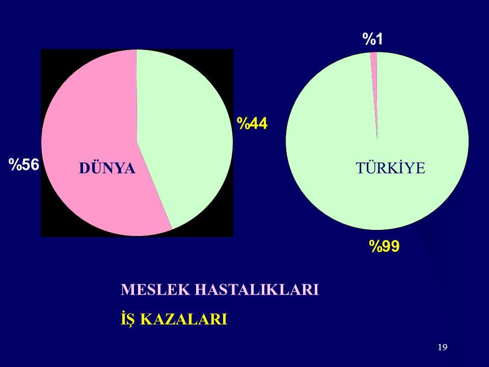 %99 %1 %44 %56 DÜNYA TÜRKİYE MESLEK HASTALIKLARI İŞ KAZALARI