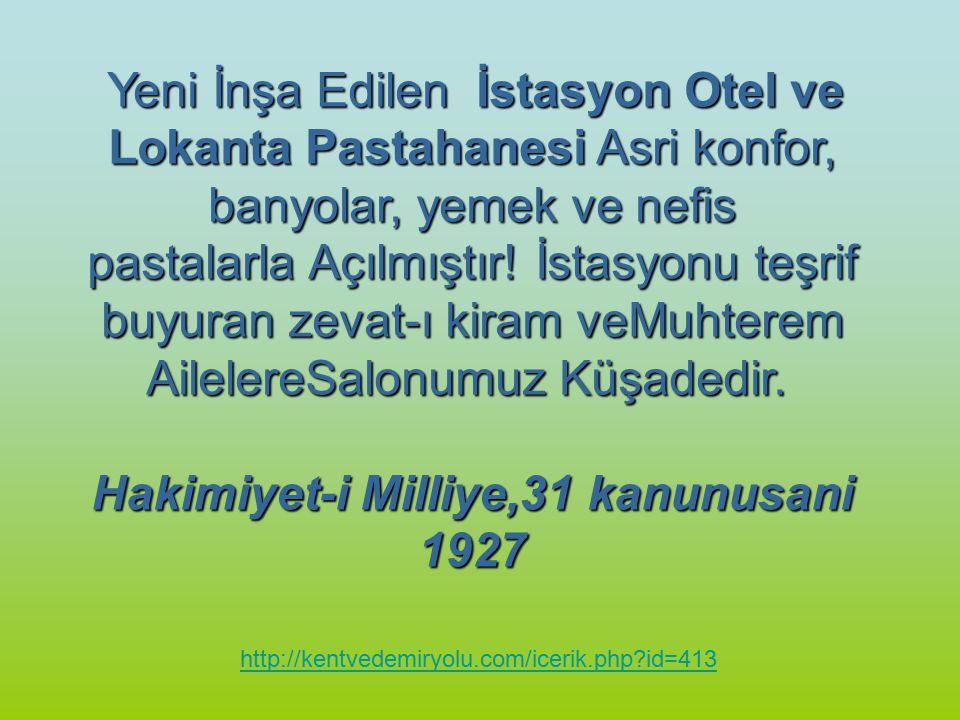 Hakimiyet-i Milliye,31 kanunusani 1927