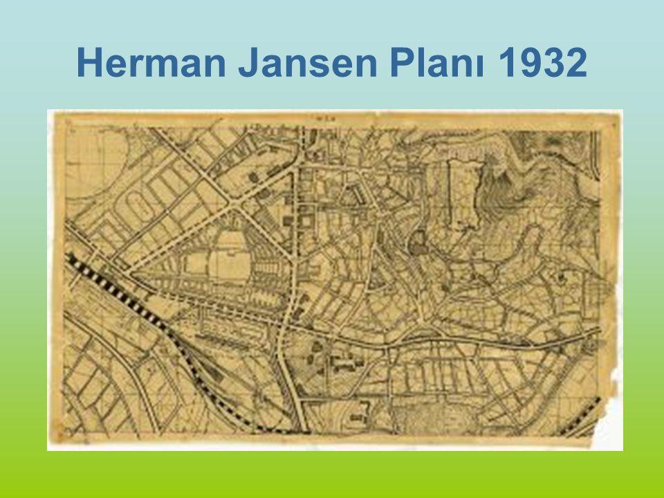 Herman Jansen Planı 1932