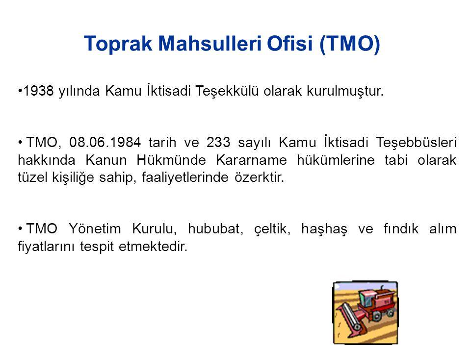 Toprak Mahsulleri Ofisi (TMO)
